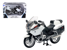 BMW R1200 RT-P U.S Police White Motorcycle 1/12 Model New Ray 43153