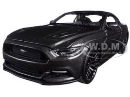 2015 Ford Mustang GT 5.0 Grey 1/24 Diecast Model Car Maisto 31508