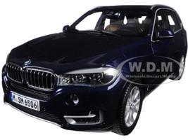 BMW X5 5.0i xDrive (F15) Imperial Blue 1/18 Diecast Model Car Paragon 97071