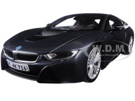 BMW i8 Grey 1/18 Diecast Model Car Paragon 97082