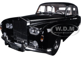 1964 Rolls Royce Phantom V MPW Black 1/18 Diecast Model Car Paragon 98213