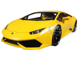 Lamborghini Huracan LP610-4 Giallo Midas Pearl Effect/Yellow Pearl 1/18 Model Car Autoart 74604