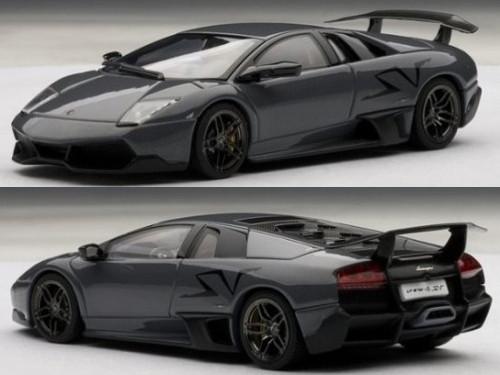 Lamborghini Murcielago Lp670 4 Sv Grigio Telesto Grey 1 43 Diecast