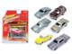Classic Gold release 1 Set B Set of 6 cars 1/64 Diecast Model Cars Johnny Lightning JLCG001-B