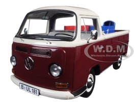 Volkswagen T2 Pickup with Soap Boxes Limited Edition to 1000pcs 1/18 Diecast Model Schuco 450018200