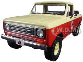 1979 International Scout Terra Pickup Truck IH Dealer Red 1/25 Diecast Model First Gear 40-0318