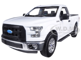 2015 Ford F-150 Regular Cab Pickup Truck White 1/24 1/27 Diecast Model Car Welly 24063