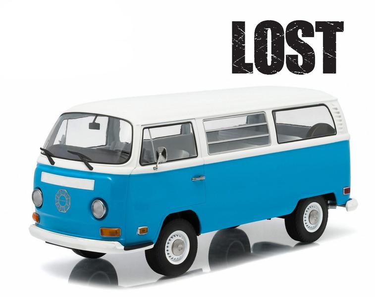 "1971 Volkswagen Type 2 Bus (T2B) ""Lost"" TV Series (2004-2010) 1/18 Diecast Model Greenlight 19011"