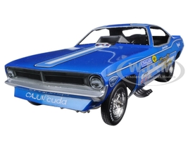 Candies & Hughes 1970 Plymouth Cuda Funny Car Leonard Hughes Limited Edition to 750pcs 1/18 Model Car Autoworld AW1172