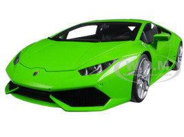 Lamborghini Huracan LP610-4 Verde Mantis 4 Layer/Green Metallic 1/18 Model Car Autoart 74605