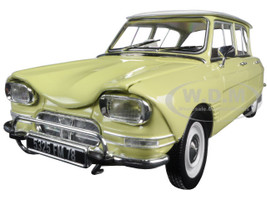 1964 Citroen Ami 6 Naples Yellow 1/18 Diecast Model Car Norev 181535