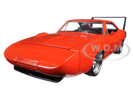 1969 Dodge Charger Daytona Orange 1/24 Diecast Model Car Jada 97682