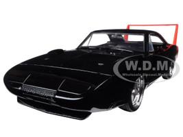 1969 Dodge Charger Daytona Black 1/24 Diecast Model Car Jada 97681