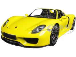 2013 Porsche 918 Spyder Yellow Limited Edition to 504pcs 1/18 Diecast Model Car Minichamps 110062434