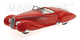 1939 Delahaye Type 165 Cabriolet Limited Edition to 1002pcs 1/18 Model Car Minichamps 107116130