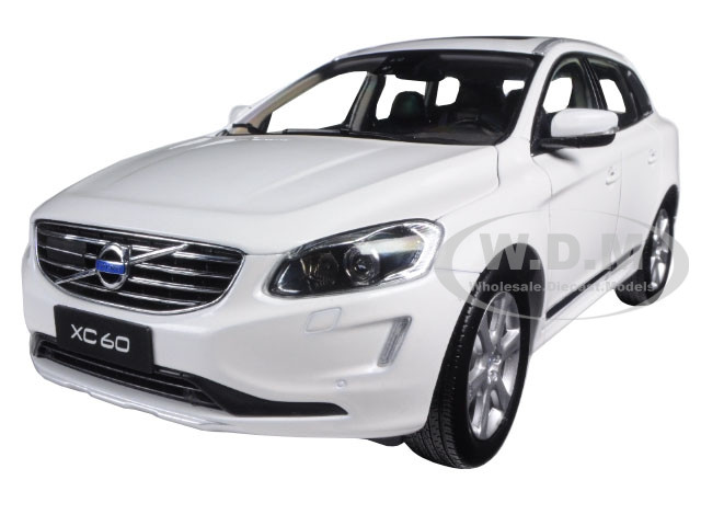 2015 Volvo XC60 Crystal White Pearl 1/18 Diecast Model Car Ultimate Diecast 88201