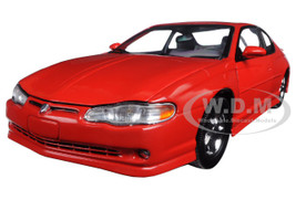 2000 Chevrolet Monte Carlo SS Torch Red 1/18 Diecast Model Car Sunstar 1987