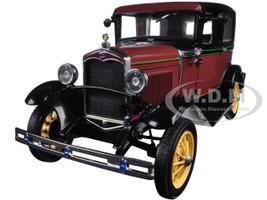 1931 Ford Model A Tudor Rubelite Red 1/18 Diecast Model Car Sunstar 6102