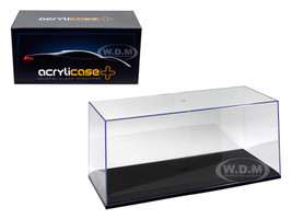 Collectible Display Show Case for 1/18 1/24 Models with Black Base 14003