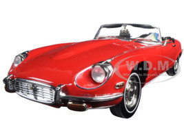 1971 Jaguar E Type Red 1/18 Diecast Model Car Road Signature 92608