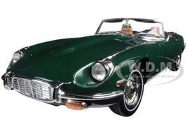 1971 Jaguar E Type Green 1/18 Diecast Model Car Road Signature 92608