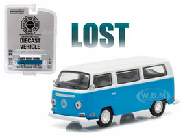 "1971 Volkswagen Type 2 Bus (T2B) ""Lost"" TV Series (2004-2010) 1/64 Diecast Model Greenlight 44720"