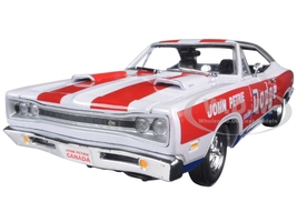 1969 Dodge Coronet Super Bee SS/E John Petrie Limited Edition to 1002pcs 1/18 Diecast Model Car Autoworld AW222