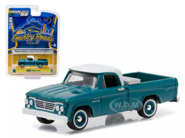 "1963 Dodge D-100 with Toolbox Pickup Truck ""Country Roads"" Series 14 1/64 Diecast Model Greenlight 29830 A"