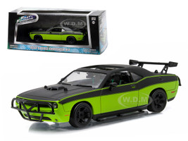"Letty's 2014 Dodge Challenger SRT-8 ""Fast and Furious-Fast 7"" Movie (2014) 1/43 Diecast Model Car Greenlight 86230"
