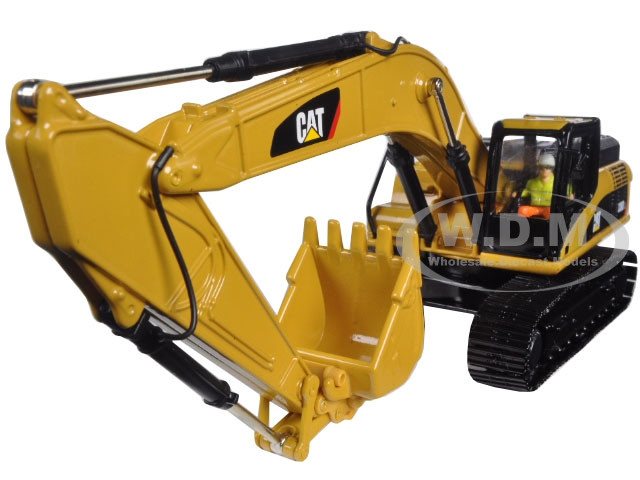 CAT Caterpillar 336D L Hydraulic Excavator with Operator Core Classics Series 1/50 Diecast Model Diecast Masters 85241 C