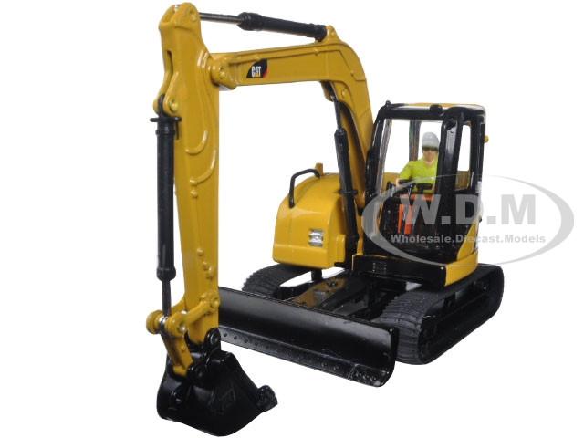CAT Caterpillar 308C CR Excavator Core Classics Series with Operator 1/50 Diecast Model Diecast Masters 85129 C