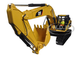 CAT Caterpillar 330D L Hydraulic Excavator Core Classics Series with Operator 1/50 Diecast Model Diecast Masters 85199 C