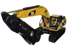 CAT Caterpillar 330D L Hydraulic Excavator Shear Core Classics Series with Operator 1/50 Diecast Model Diecast Masters 85277 C