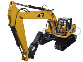 CAT Caterpillar 320D L Hydraulic Excavator with Hammer Core Classics Series with Operator 1/50 Diecast Model Diecast Masters 85280 C
