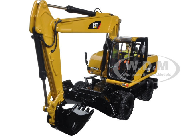 CAT Caterpillar M316D Wheel Excavator 1/50 Diecast Model Diecast Masters 85171 C