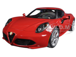 Alfa Romeo 4C Alfa Red 1/18 Model Car Autoart 70189