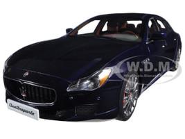 2015 Maserati Quattroporte GTS Passion Blue 1/18 Diecast Model Car AutoArt 75807