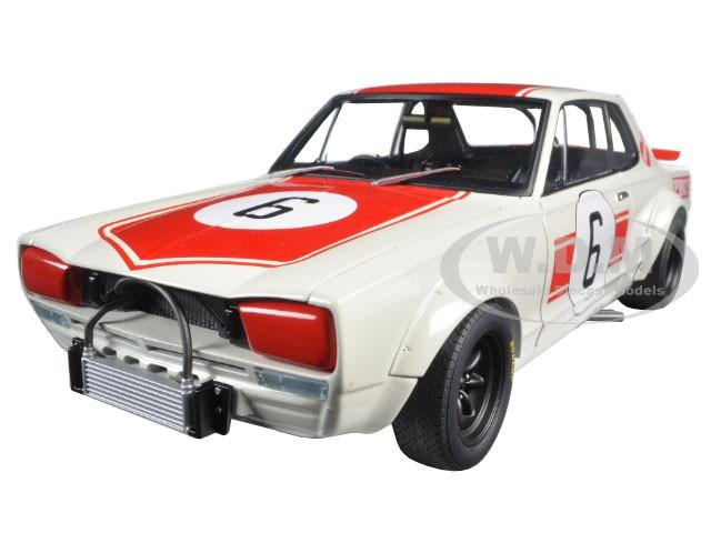 Nissan Skyline GT-R (KPGC10) Racing 1971 Kunimitsu Takahashi #6 Japan GP Winner 1/18 Diecast Model Car Autoart 87176