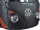 "Volkswagen Van Samba Grey ""Outlaws"" 1/25 Diecast Model Car Maisto 31022"