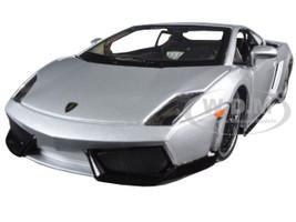 "Lamborghini Gallardo LP 560-4 Silver ""Exotics"" 1/24 Diecast Model Car Maisto 31352"