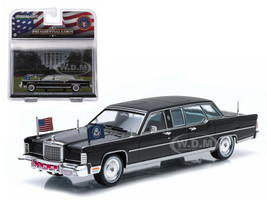 1972 Lincoln Continental Ronald Reagan Presidential Limousine 1/43 Diecast Model Car Greenlight 86110 C
