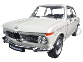 BMW 2002ti Cream 1/24 1/27 Diecast Model Car Welly 24053