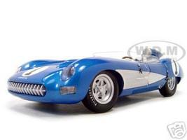 1957 Chevrolet Corvette SS Diecast Model Blue 1/18 Die Cast Car Autoart  71051
