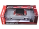 1964 Pontiac GTO Silvermist Grey with Gloss Black Roof 1/24 Diecast Model Car Autoworld AW24007