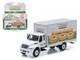 2013 International Durastar Box Van Krispy Kreme Donuts Delivery Truck HD Trucks Series 4 1/64 Diecast Model Greenlight 33040 B