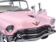 1955 Pink Cadillac Fleetwood Series 60 Special Elvis Presley 1/18 Diecast Model Car Greenlight 12950