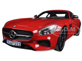 2015 Mercedes AMG GT Red 1/18 Diecast Model Car Norev 183496