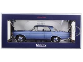 1969 Mercedes 280 SE Coupe Light Blue Metallic 1/18 Diecast Model Car Norev 183532