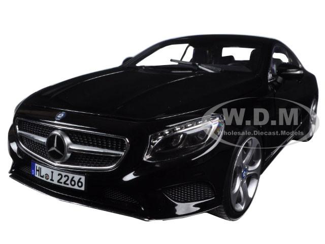 2014 Mercedes S Class Coupe Black 1/18 Diecast Model Car Norev 183482