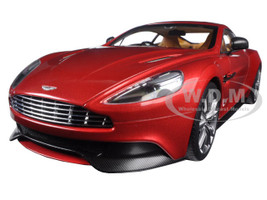 Aston Martin Vanquish Volcano Red 1/18 Model Car Autoart 70249